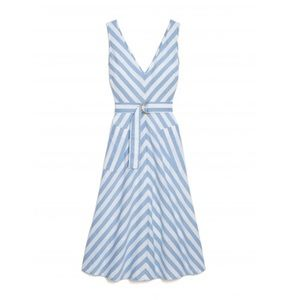 Kate spade summer 2019 deck stripe midi dress